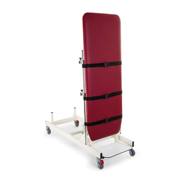 FISIOTECH Nettuno Table – 1 Section Tilt Table w/ Fixed Height, Under-bed Clearance for Post-Trauma Care Therapy, Rehab Therapy, Examination (115054)