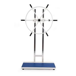 FISIOTECH Shoulder Wheel for Floor Base Arms/Shoulder Rehabilitation, Out-Patient Rehab Programs (135050)