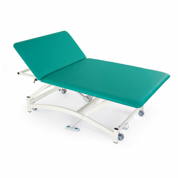 FISIOTECH BobathS2 Couch – Section Electrical Couch w/ Adjustable Height, Under-bed Clearance for Post-Trauma Therapy, Rehab Therapy, Examination