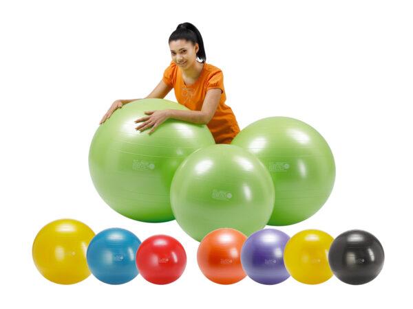 Gymnic – Gymnic Plus 75 BRQ, Rehabilitation Balls for Movement & Balance Physiotherapy