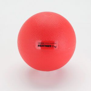 Gymnic Heavymed 1, Red, Exercising Balls for Outpatient-Rehabilitation Therapy