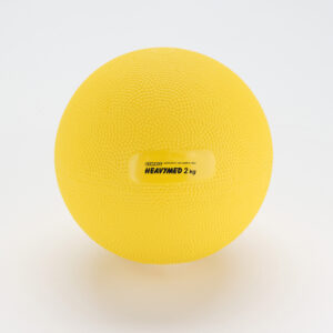 Gymnic Heavymed 2, Yellow, Exercising Balls for Outpatient-Rehabilitation Therapy