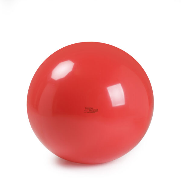 Gymnic Physio Gymnic 120, Red, Rehabilitation Balls for Movement & Balance Physiotherapy