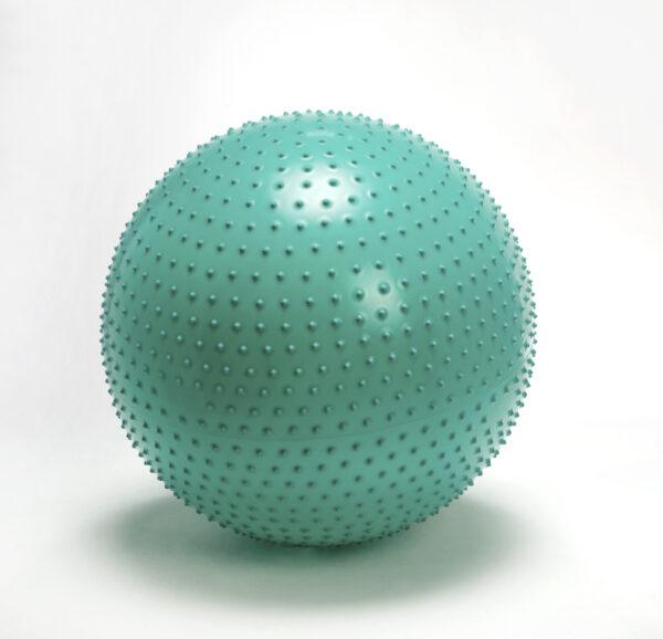 Gymnic Therasensory 65, Green, Spiky Rings for Hand & Finger Massage, Stimulating Sensory Impulses