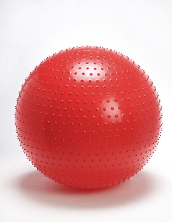 Gymnic Therasensory 100, Red Spiky Balls for Hand & Finger Massage, Stimulating Sensory Impulses