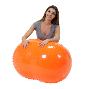 Gymnic SENS'O'ROLL , Orange, Saddle Shape Ball for Movement & Balance Physiotherapy